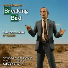 Mezco Toyz 2015 CON EXCLUSIVE Better Call Saul 6 inch action figure new! sealed!