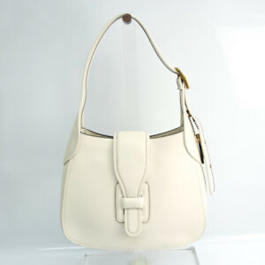Coach Courier Medium Hobo 88349 Women's Leather Shoulder Bag Off-white BF534973