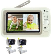 Moonybaby Split 30 Baby Monitor e 2 Telecamere