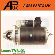 Lucas 12V Starter Motor 2.8KW Claas Massey Ferguson Case IH Volvo Perkin Tractor