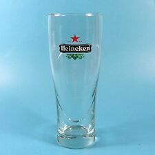 "Heineken Beer 7.25"" Star Serve Glass 1 Etch Etched Logo"