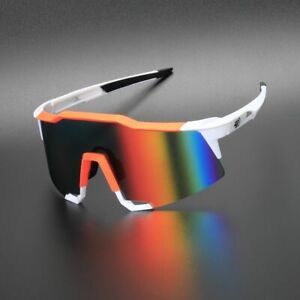 EOC Cycling Glasses Motorcycle Goggles UV400 Driving Sunglasses 2 Len TR90 803OW