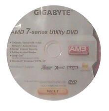original gigabyte Mainboard Treiber CD DVD GA-MA78LMT-S2H XP 7 Vista Windows ~3