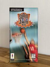 ‼️ SLAM JAM PANASONIC 3DO CIB BIG LONG BOX GOLDSTAR RARE FZ GAME SANYO