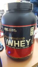 Optimum Nutrition ON 100% Gold Standard Whey Protein Powder 908g