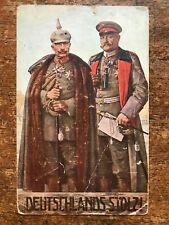 Deutschlands Stolz! 1915 Hannover Posted Postcard - r285