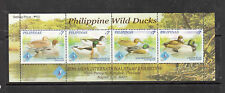 Philippine Stamps 2007 Philippine Wild Ducks S/S ovpt Bangkok Exhibtion MNH