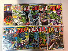 Incredible Hulk (1978) #229 to 300 (most #'s), Annual #8-13 Run Set 282 Marvel