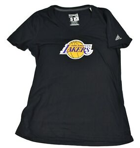 adidas Womens NBA 4 Her Los Angeles Lakers Ultimate Tee Shirt New S, M, L, XL