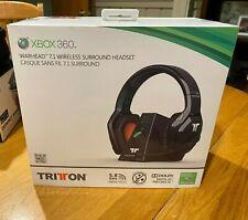 Tritton XBOX 360 BLACK & ORANGE Stereo Game Headset