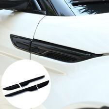 4pcs Black Side Air Vent Outlet Cover Trim for Range Rover Evoque 2012-2017