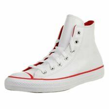 Converse CTAS HI Unisex Leder Sneaker Chuck 166729C Weiß