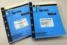 Set International 125 Series C 125c Crawler Loader Service Repair Shop Manuals