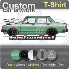 Custom T-shirt 1980 80 1981 81 1982 82 1983 83 84 VW Jetta Sedan MKI mk1 GLi 16v