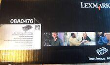 LEXMARK 08A0476 E320 E322 Cartuccia di stampa programma di ritorno NUOVO SIGILLATO ORIGINALE