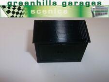 Greenhills Scalextric Pit Building Storage Locker Black New  - MACC330