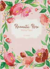 Romantic Rose - Writing Paper - 1 x 20 page Pad and 10 Envelopes