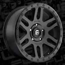 Fuel Recoil 20x9 6x5.5 ET1 Matte Black Wheels (Set of 4)