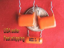 12 pcs  -  .022uf  (0.022uf, 22nf)  250v  metalized film epoxy capacitors (S)