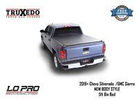 "TruXedo Lo Pro QT Tonneau Cover 2019+ Chevy Silverado GMC Sierra 5'8"" Bed 572401"