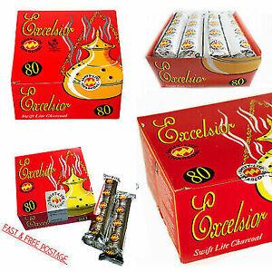 SHISHA HOOKAH CHARCOAL BAKHOOR INCENSE BURNER COAL TABLETS