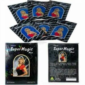 6 Boxes Super Magic Tissue (1 BOX @6 sachets) + ANTISEPTIC
