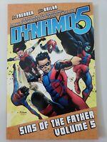 DYNAMO5: SINS OF THE FATHER Volume 5 TPB IMAGE COMICS BRAND NEW UNREAD