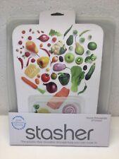 New listing Stashed Reusable Silicone Food Bag 1/2 Gallon Sous Vide, Cook Freeze Store Nip