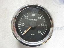 "333-197 New VDO Marine Boat Tach Tachometer 6K 6000 RPM 3 1/4"" 333197"