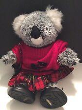 "15"" Build-a-Bear Koala Bear Stuffed Plush With Outfit"