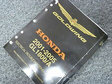 2005 Honda GL1800 GL1800A Gold Wing Motorcycle Electrical Troubleshooting Manual