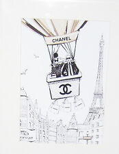 Art Deco Print+Mat Board+Foam Backing Ready to Frame-Chanel #45-NEW