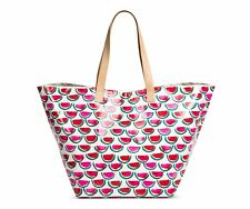 NWT Merona Laminated Beach Tote Watermelon Hand Diaper Bag Super CUTE!!