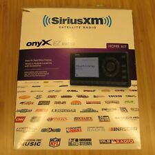 New ListingSirius Xm Satellite Onyx Ez Radio with Home Kit Model Xez1H1 Open-box
