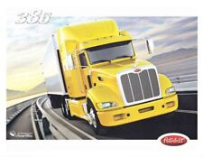 """2012 Peterbilt Model 386 """"2nd issued"""" Mid-America Truck Show Promo info card"""