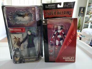 Harley Quinn DC Comics Super-Villians the dark knight joker New in Box, Sealed