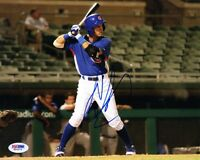 ALBERT ALMORA SIGNED AUTOGRAPHED 8x10 PHOTO CHICAGO CUBS ROOKIEGRAPH PSA/DNA