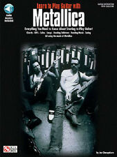 METALLICA LEARN TO PLAY GUITAR WITH TAB SONGBOOK