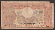 Cameroon P-15c / B401c (1978) 500 Francs 43885