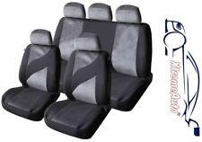 9 PCE EDINBURGH TWEED LOOK STYLE SEAT COVERS FOR Fiat Panda Brava Bravo Punto