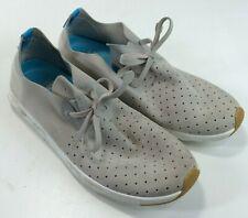 Native Men's Apollo Moc $80 Sneakers Size 9 Suede Pigeon Gray