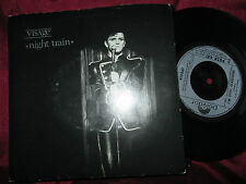 "Visage ‎– Night Train Label: Polydor ‎– POSP 441 UK 7"" Vinyl 45 single"