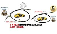 FOR MAZDA RX8 1.3 2.6 COUPE 2003-2008 2x REAR HAND LEFT + RIGHT SIDE BRAKE CABLE