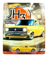 HOT WHEELS / 1975 Datsun Sunny Truck B120 (Yellow) - Mint on blister card.