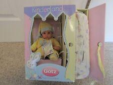 "Gotz Kinderland Baby Boy Doll Nib Hildeguard Gunzel 13"""