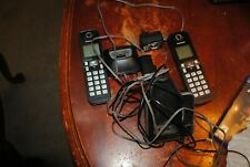 Panasonic KX-TGC350B 2 Cordless Phones Handset w/ Batteries and Bases