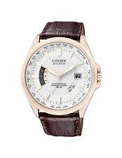 Citizen Armbanduhren mit Armband aus echtem Leder