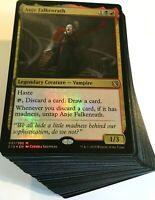 ***Custom Commander Deck*** Anje Falkenrath - Vampire Tribal - EDH Magic Cards