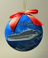 Carnival cruise Line Glory Round Ornament