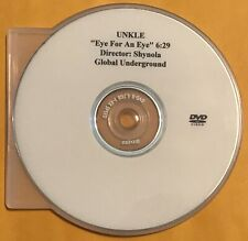 UNKLE-EYE FOR AN EYE/2003 GLOBAL UNDERGROUND REC DVD BREAKBEAT PROMO MUSIC VIDEO